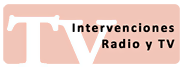 Intervenciones Radio y TV