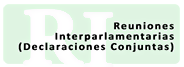 Reuniones Interparlamentarias