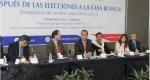 """Conversatorio """"¿Y después de las elecciones a la Casa Blanca' Perspectiva de las relaciones México-EUA"""""""