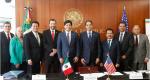 Visita al Senado de la República del Presidente Pro Tempore del Senado de California, Senador Kevin de León