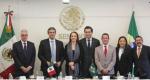 Visita al Senado de la República del Senador Luiz Lindbergh Farias