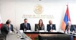 Visita al Senado de la República del Hon. Artak Zakaryan, Presidente de la Comisión de Relaciones Exteriores de la Asamblea Nacional de la República de Armenia