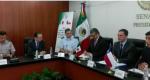 Visita del Sr. José Antonio Gómez Urrutia, Ministro de Defensa Nacional de la Repúblicas de Chile