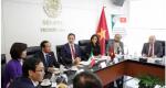 Visita al Senado de la República del Hon. Sr. Do Ba Ty, vicepresidente de la Asamblea Nacional y General de ejército de la República Socialista de Vietnam.