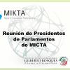 Reunión de Presidentes de Parlamentos de MICTA