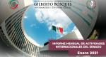 Informe Mensual de la Actividad Internacional del Senado-Enero 2021