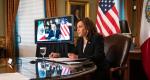 Kamala Harris y López Obrador mantienen Reunión Bilateral virtual