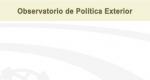 Observatorio de Política Exterior No. 38. Reporte Junio 2018