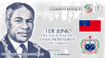 1 de junio - Estado Independiente de Samoa